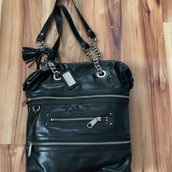 Badgley Mischka Handbags - Badgley Mishka large leather bag